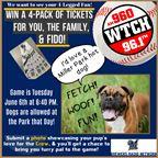 4 Legged Fan Photo Contest - Bark in the Park