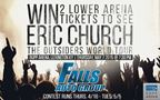 Falls Auto Group: Eric Church Ticket Giveaway