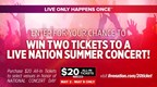 Live Nation - $20 concerts