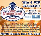 Carolina Country Music Fest Ticket Giveaway