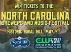 NC Brewers and Music Festival Ticket Giveaway