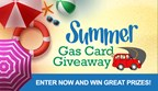 Summer Gas Card Giveaway