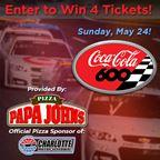 Papa John�s Race Ticket Giveaway