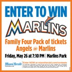 MH- Marlins vs Angels Contest Giveaway