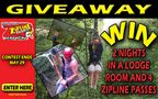 May Zipline Giveaway