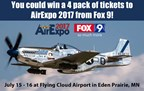 AirExpo 2017 Ticket Giveaway