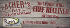 Rick's Father's Day Recliner Giveaway