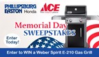 Phillipsburg Easton Honda Memorial Day Sweepstakes