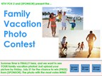 Family Vacation Photo Contest