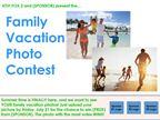 Family Vacation Photo Contest