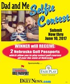 Dad and Me Selfie Photo Contest