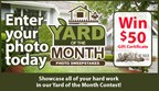 Yard of the Month Photo Sweepstakes