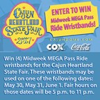 Cajun Heartland State Fair Ticket Give-a-way!
