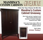Mandina's Custom Cabinet Giveaway