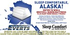 Sleep Comfortable, Alaska