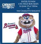 Win Gwinnett Braves tickets