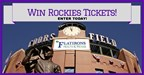 Rockies Hot Ticket Giveaway