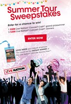 The Valpak Summer Tour Sweepstakes