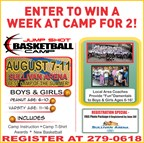 Jump Shot Basketball Camp Giveaway
