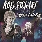 Rod Stewart and Cyndi Lauper