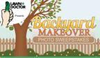 Backyard Makeover Photo Sweepstakes