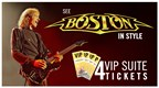 Boston VIP Concert Ticket Giveaway