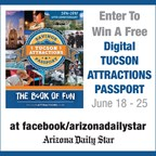 2017 Tucson Attractions Passport Sweepstakes