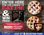 Brown Auto Pie-Eating Contest