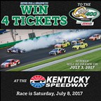 Win 4 Tickets to Kentucky Speedway