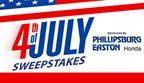 Fourth of July Sweepstakes 2017