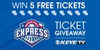Round Rock Express Ticket Giveaway 6/12