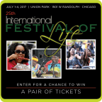 Festival of Life Giveaway