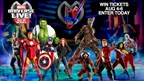 Enter to WIN tickets to Marvel Universe Live!