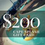 The Cape Splash $200 Gift Card Giveaway
