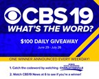 CBS19 What's The Word? Contest