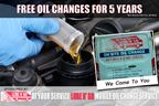 At Your Service Lube N' Go - Free Oil Changes for