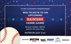 Rainiers Ticket Giveaway