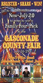 2017 Gasconade County Fair Sweeps
