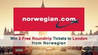 Win 2 Free Roundtrip Tickets to London from Norwegian Air