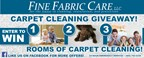 Fine Fabric Care Carpet Cleaning Giveaway