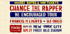 WIN TICKETS TO SEE CHANCE THE RAPPER AT FOREST HILLS STADIUM!