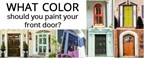 What color should you paint your front door?