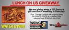 Triangle Furniture's Lunch on Us Giveaway