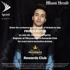 Prince Royce MH Contest