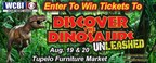 WCBI's Discover the Dinosaurs Ticket Giveaway