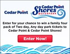Cedar Point and Cedar Point Shores Ticket Giveaway