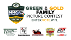 Green & Gold Family Picture Contest