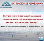 Mt. Shasta Ski Giveaway