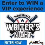 Miami Herald and the Marlins Sports Writers' Night