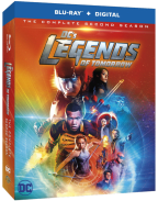 DCs Legends of Tomorrow The Complete Second Season Blu-ray